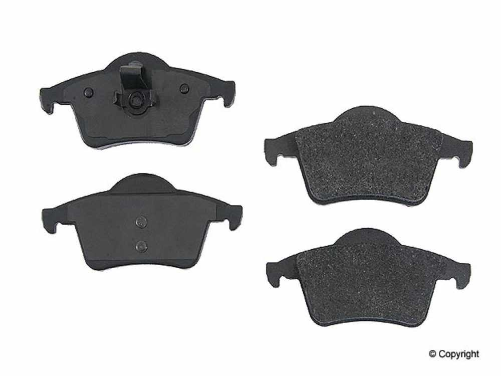 Original -  Performance Semi-Met Disc Brake Pad Set (Rear) - WDX 520 07950 507
