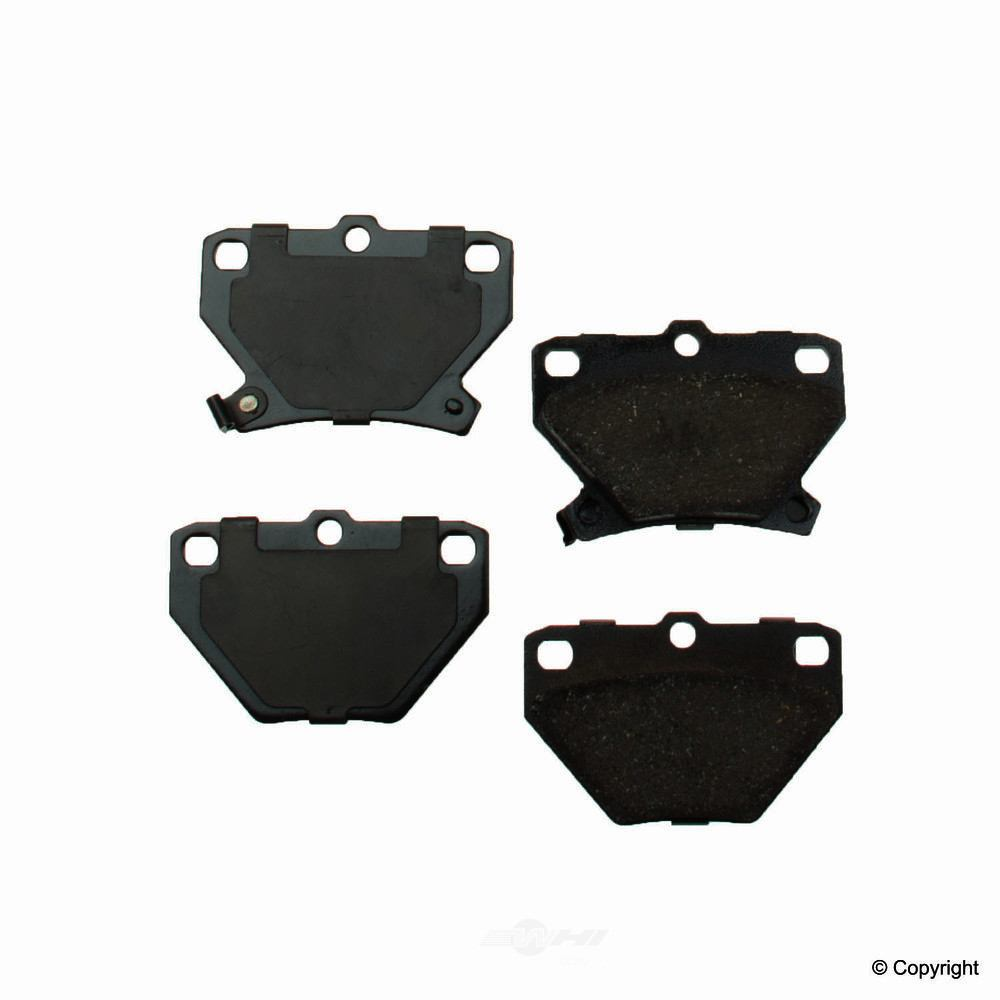 Original -  Performance Ceramic Disc Brake Pad Set - WDX 520 08230 508