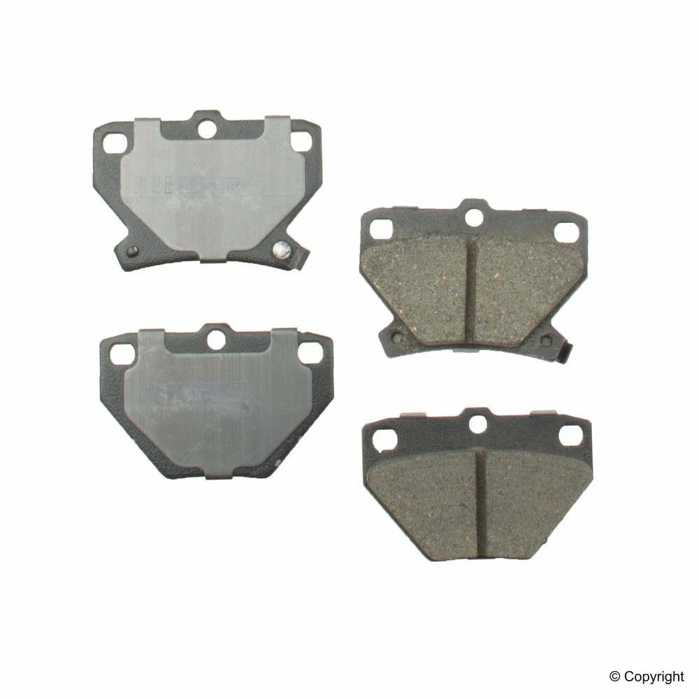 Meyle -  Ceramic Disc Brake Pad Set (Rear) - IMM 7696 D823 CRM