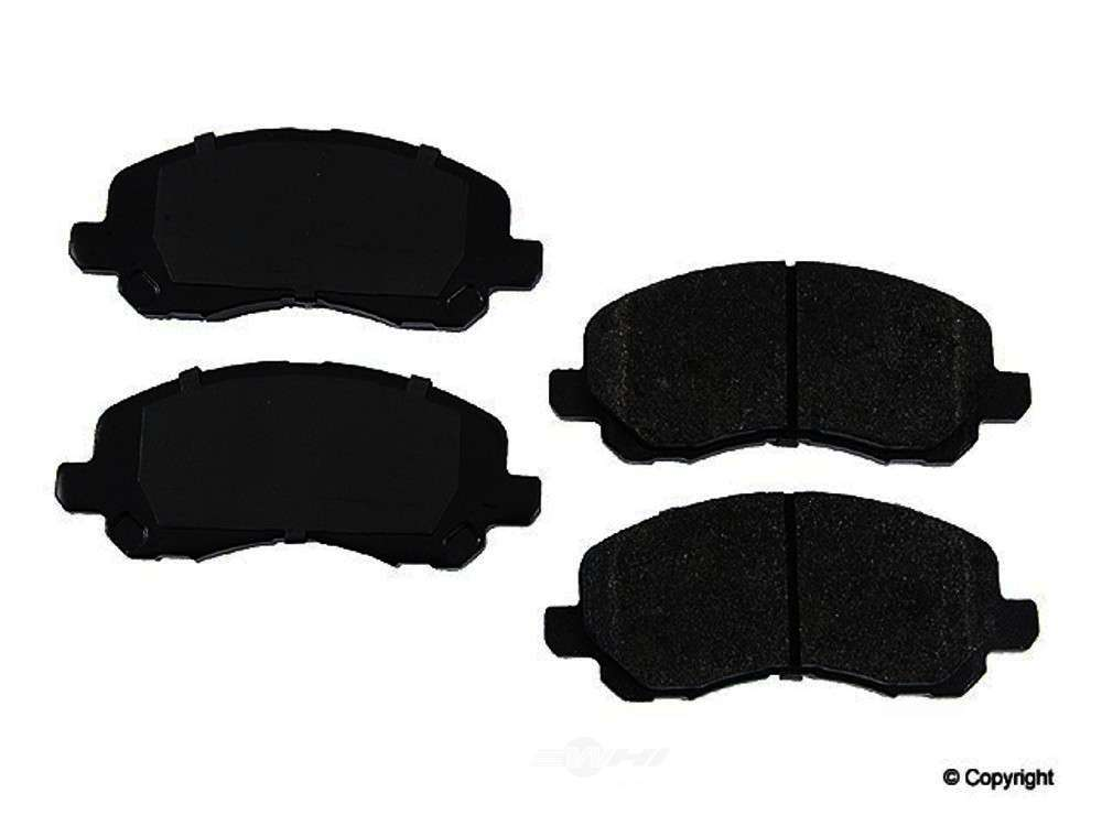 Original -  Performance Semi-Met Disc Brake Pad Set - WDX 520 08660 507