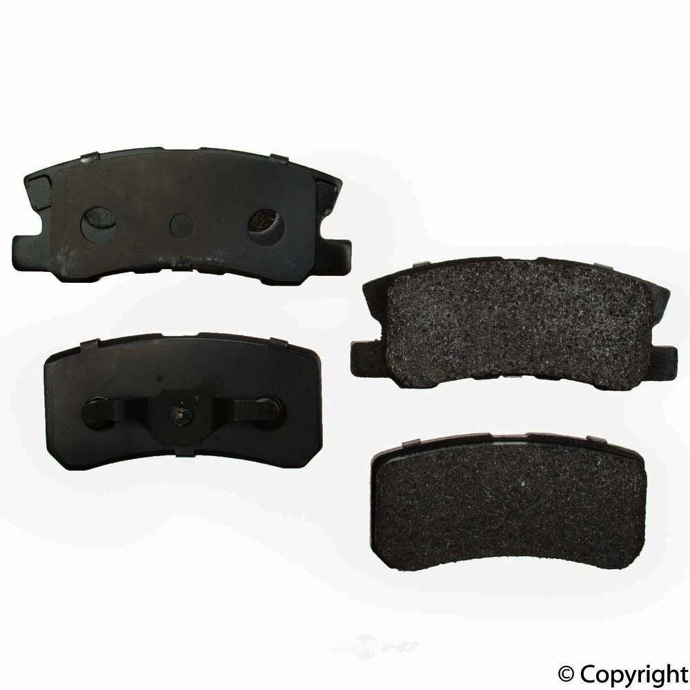 Original -  Performance Semi-Met Disc Brake Pad Set - WDX 520 08680 507