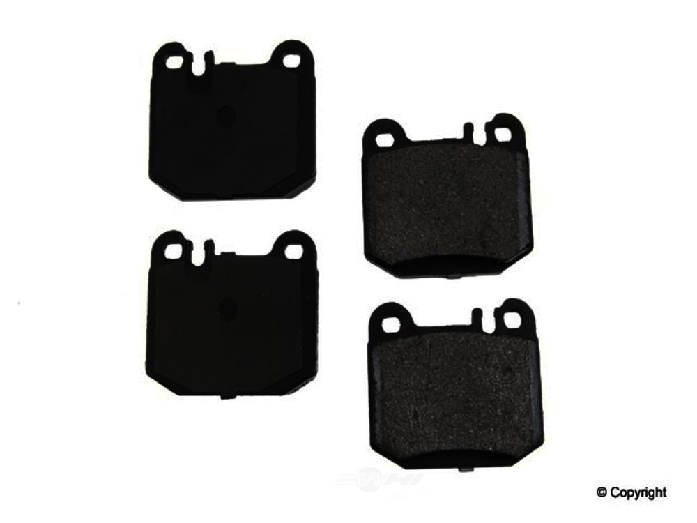 Original -  Performance Semi-Met Disc Brake Pad Set - WDX 520 08740 507