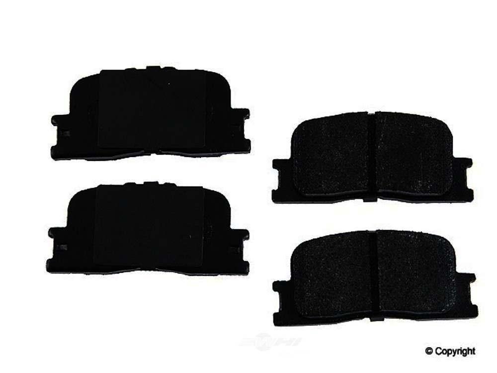 Original -  Performance Semi-Met Disc Brake Pad Set - WDX 520 08850 507