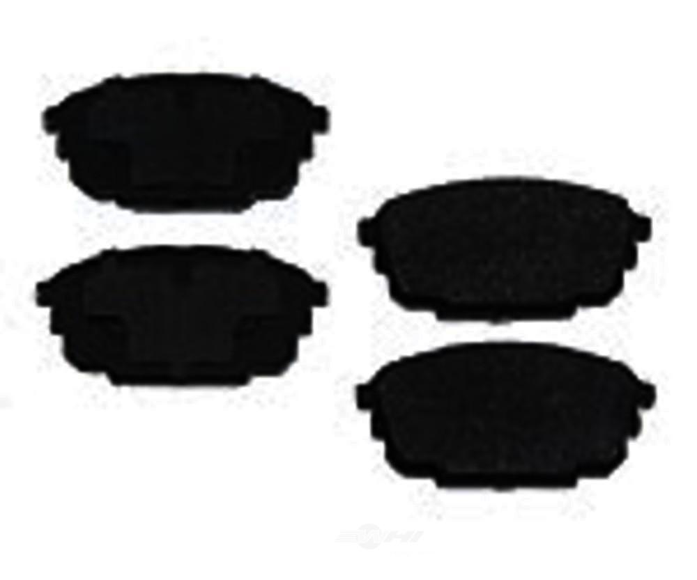 Original -  Performance Semi-Met Disc Brake Pad Set - WDX 520 08920 507