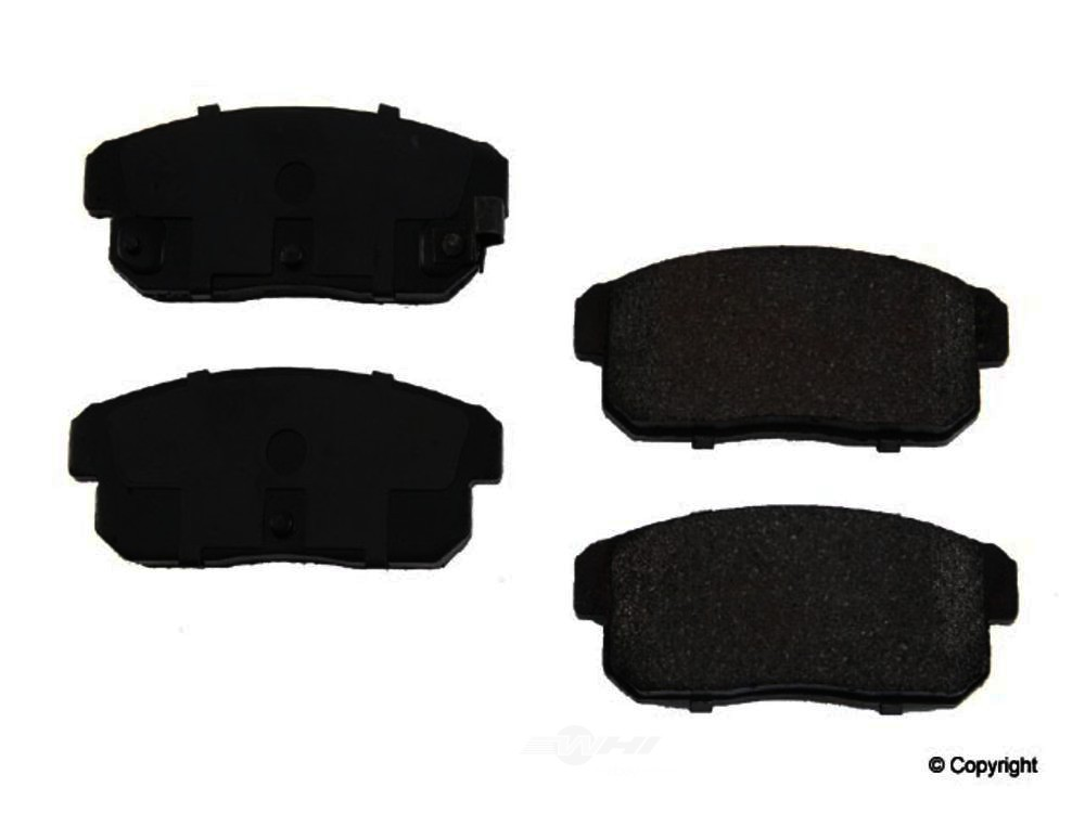 Original -  Performance Semi-Met Disc Brake Pad Set - WDX 520 09000 507