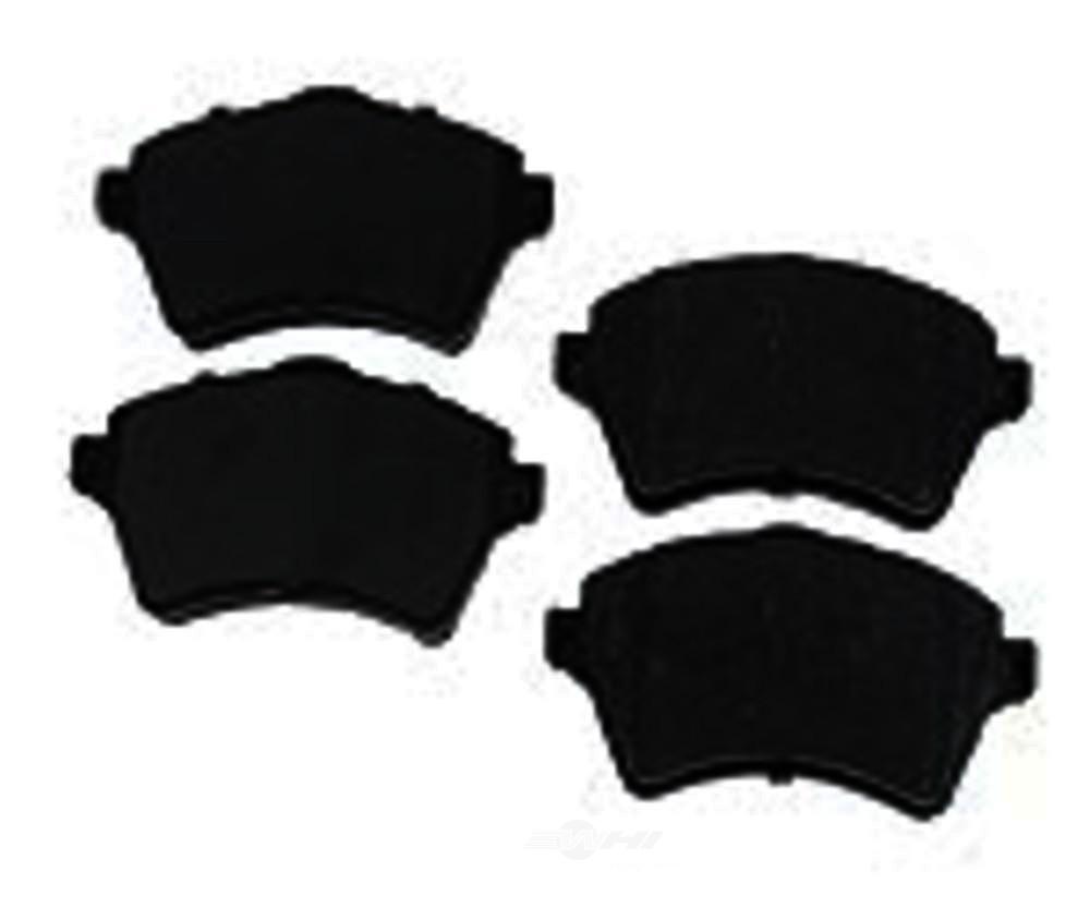 Original -  Performance Semi-Met Disc Brake Pad Set - WDX 520 09260 507