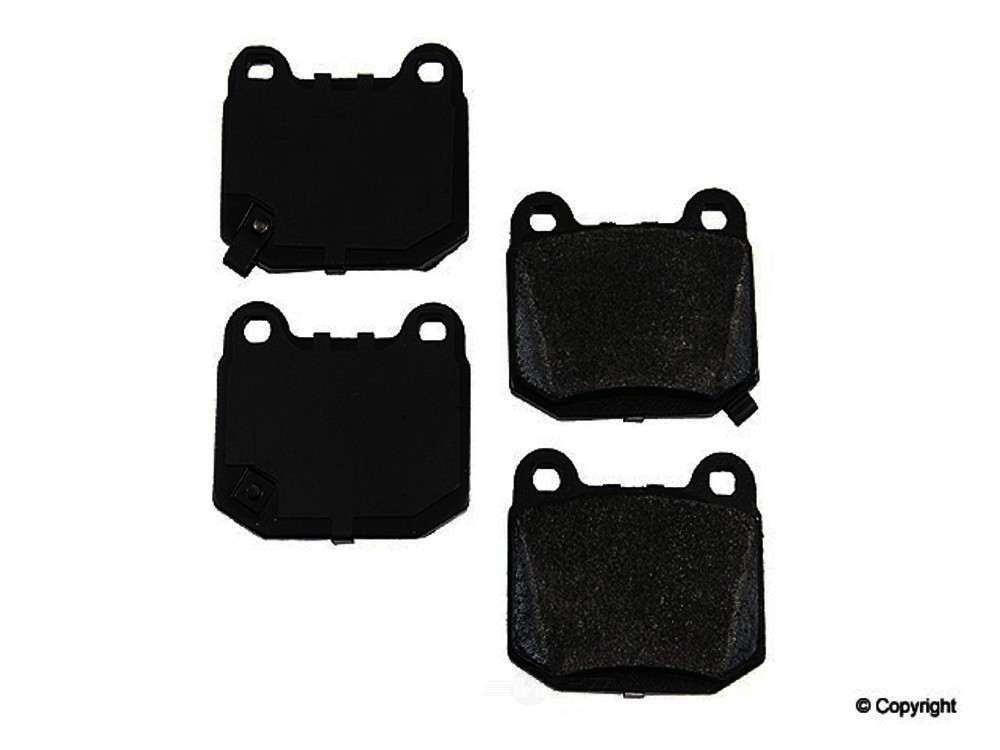 Original -  Performance Semi-Met Disc Brake Pad Set - WDX 520 09610 507