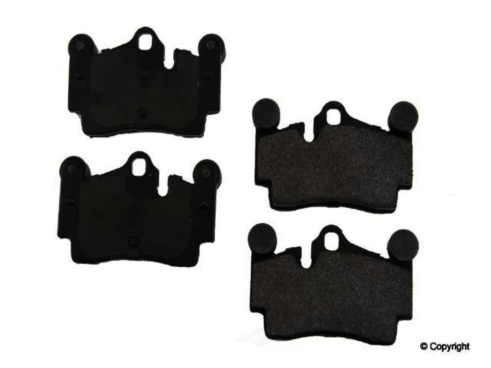 Original -  Performance Semi-Met Disc Brake Pad Set - WDX 520 09780 507
