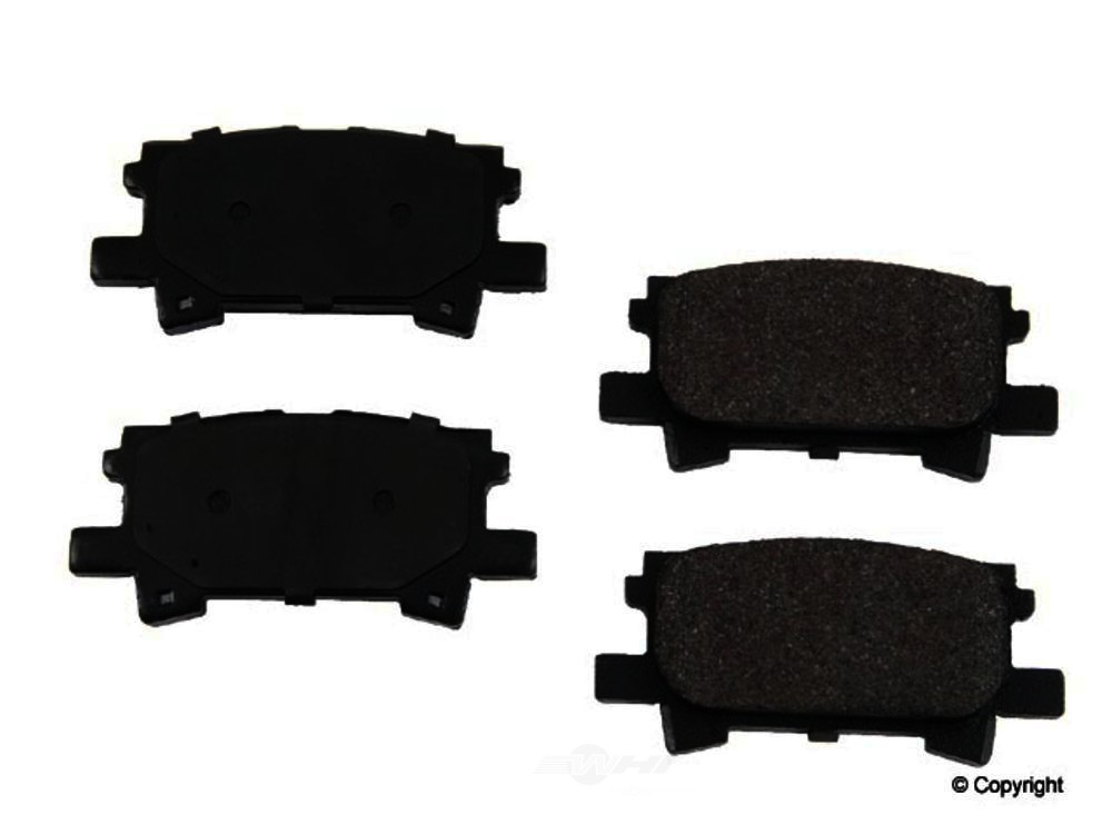 Original -  Performance Semi-Met Disc Brake Pad Set - WDX 520 09960 507