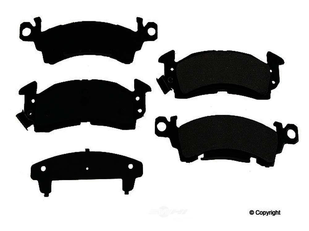 Original -  Performance Ceramic Disc Brake Pad Set (Front) - WDX 520 00520 508