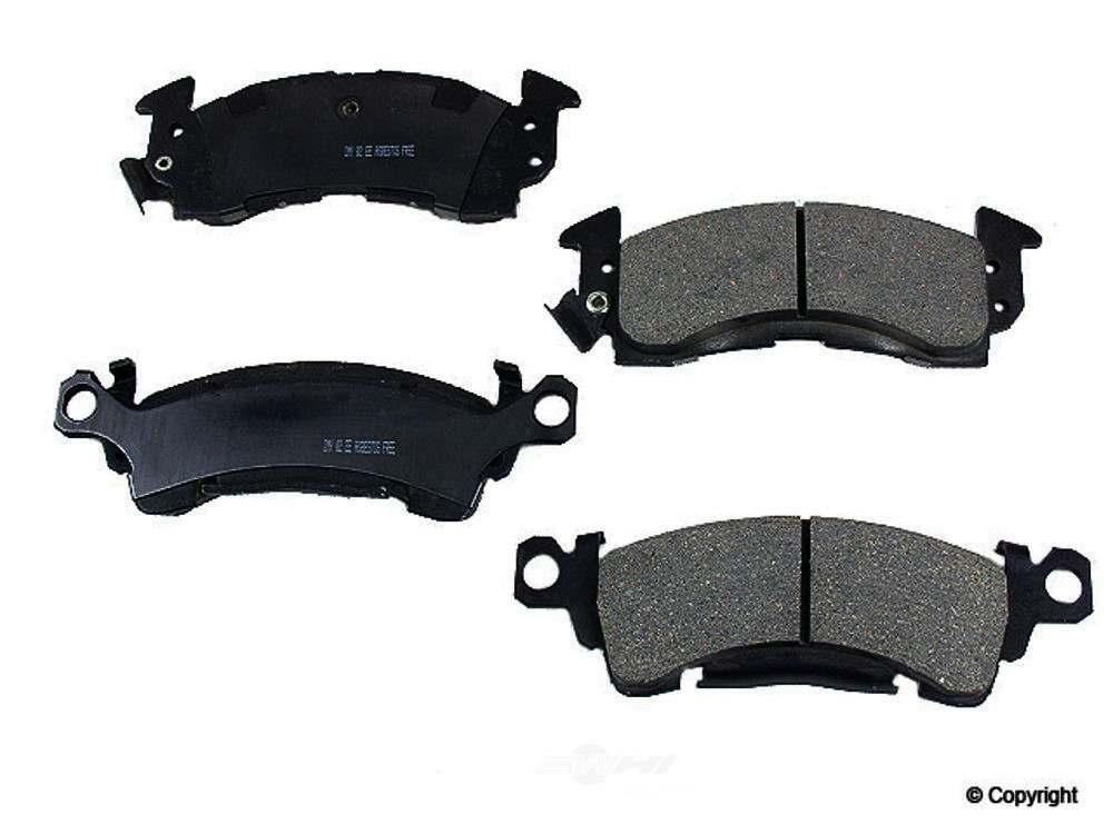 Meyle -  Ceramic Disc Brake Pad Set (Front) - WDX 520 00520 504