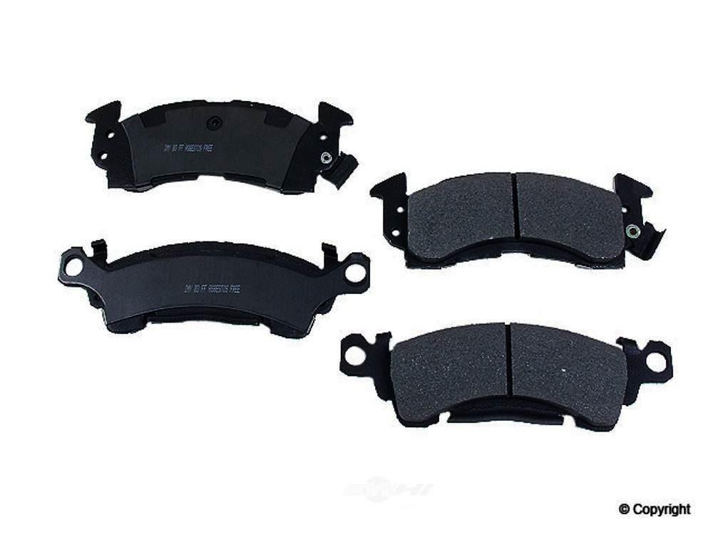 Meyle -  Heavy Duty Disc Brake Pad Set (Front) - WDX 520 00520 505