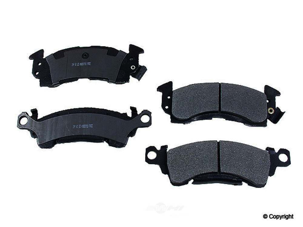 Meyle -  Semi Metallic Disc Brake Pad Set - WDX 520 00520 503