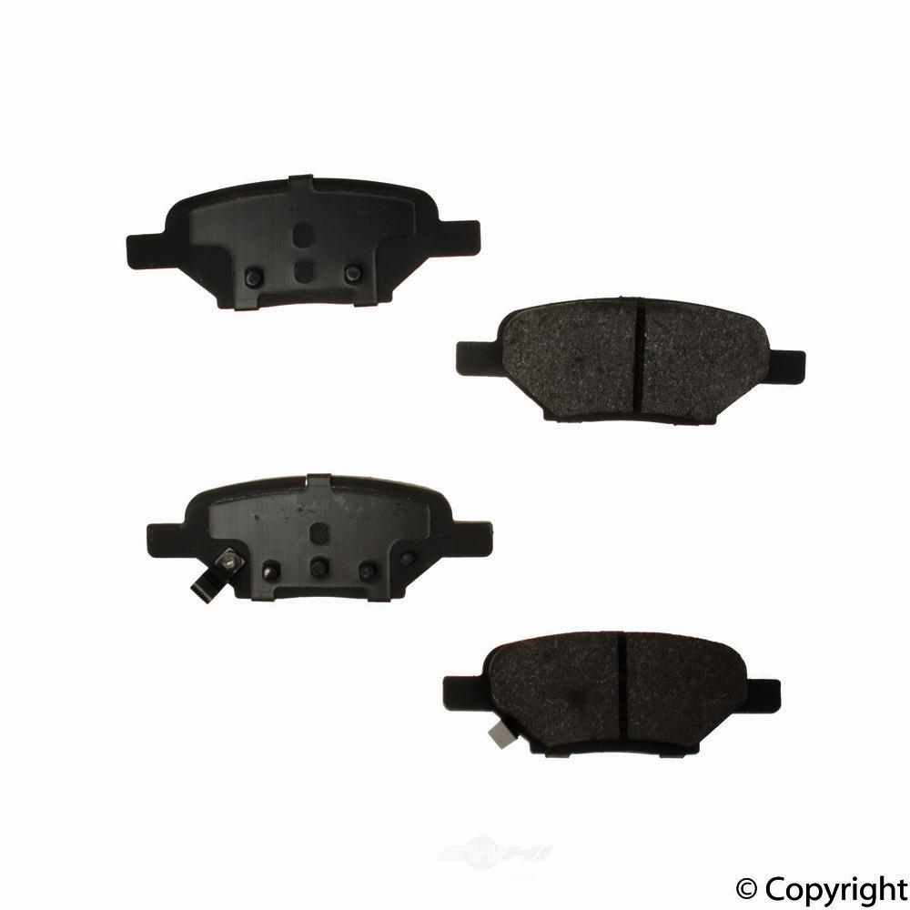 Original -  Performance Semi-Met Disc Brake Pad Set - WDX 520 10330 507