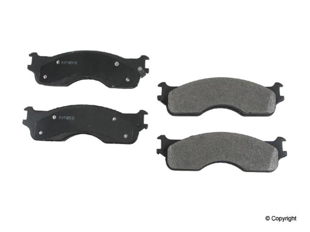 Meyle -  Heavy Duty Disc Brake Pad Set (Front) - WDX 520 10540 505