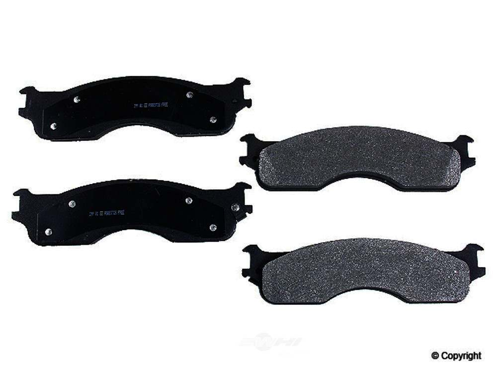 Meyle -  Semi Metallic Disc Brake Pad Set - WDX 520 10540 503