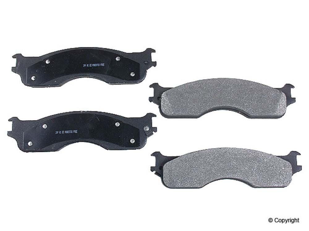 Meyle -  Semi Metallic Disc Brake Pad Set (Front) - IMM 7959 D1054 PMQ