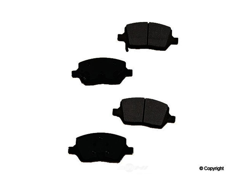 Original -  Performance Ceramic Disc Brake Pad Set - WDX 520 10930 508