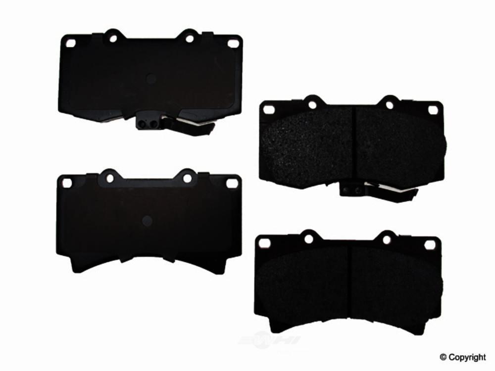 Original -  Performance Semi-Met Disc Brake Pad Set - WDX 520 11190 507