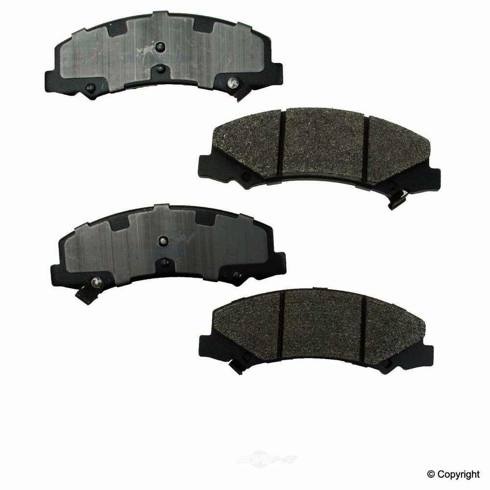 Meyle -  Semi Metallic Disc Brake Pad Set - WDX 520 11590 503