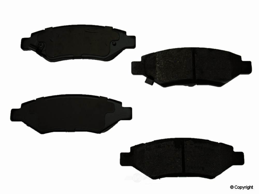 Original -  Performance Semi-Met Disc Brake Pad Set - WDX 520 13370 507