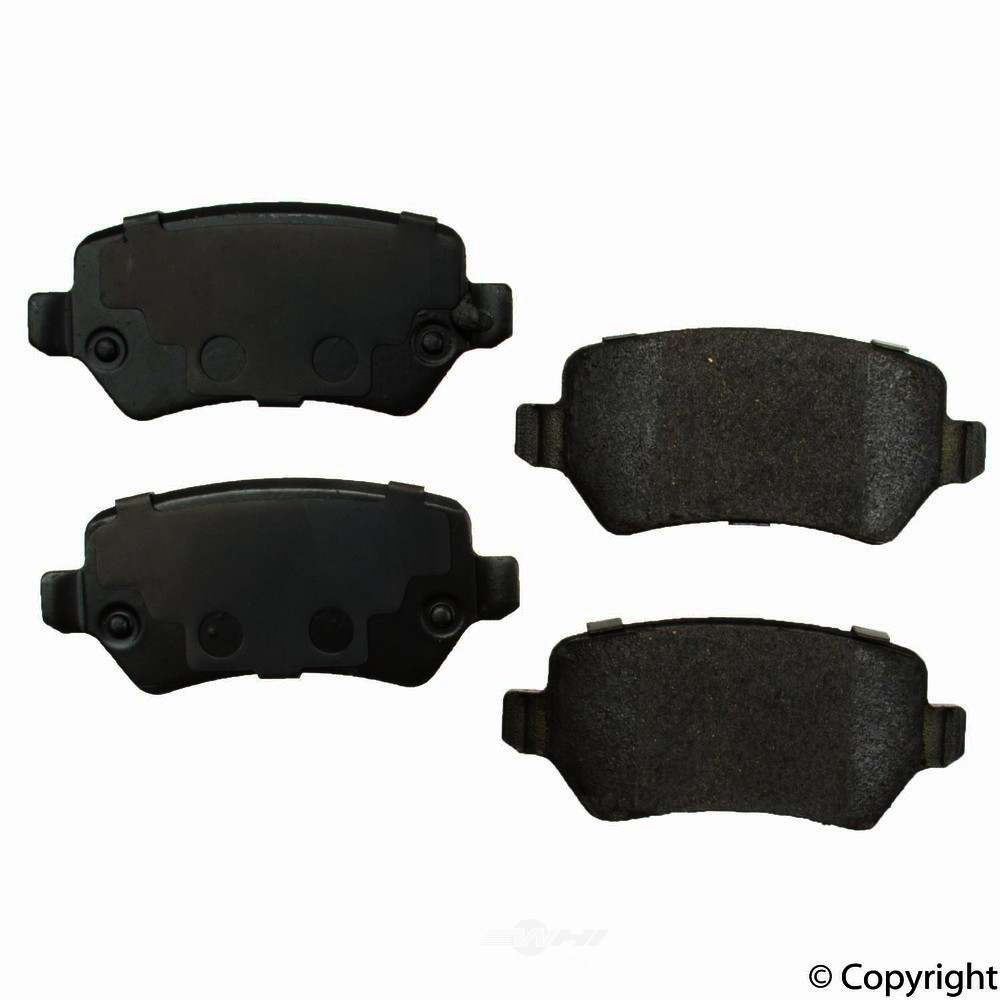 Original -  Performance Ceramic Disc Brake Pad Set - WDX 520 13620 508