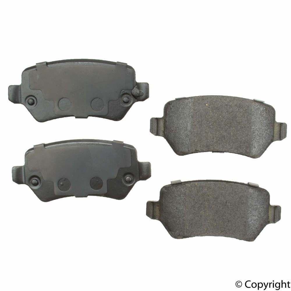 WD EXPRESS - Original Performance Ceramic Disc Brake Pad Set (Rear) - WDX 520 13620 508