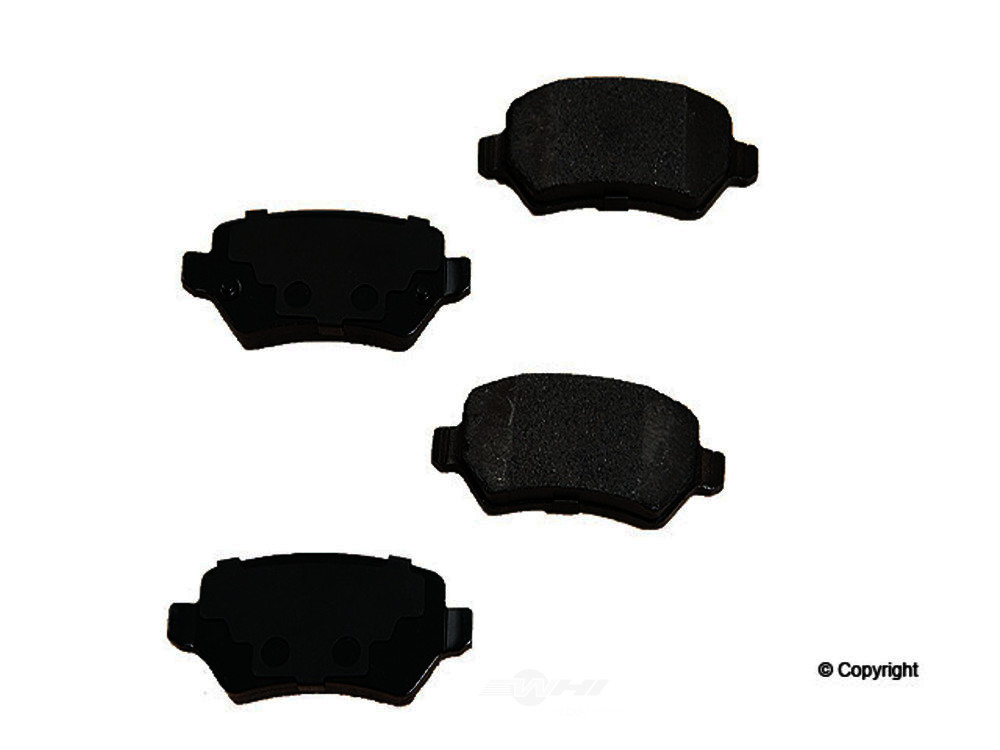 Original -  Performance Semi-Met Disc Brake Pad Set - WDX 520 13620 507