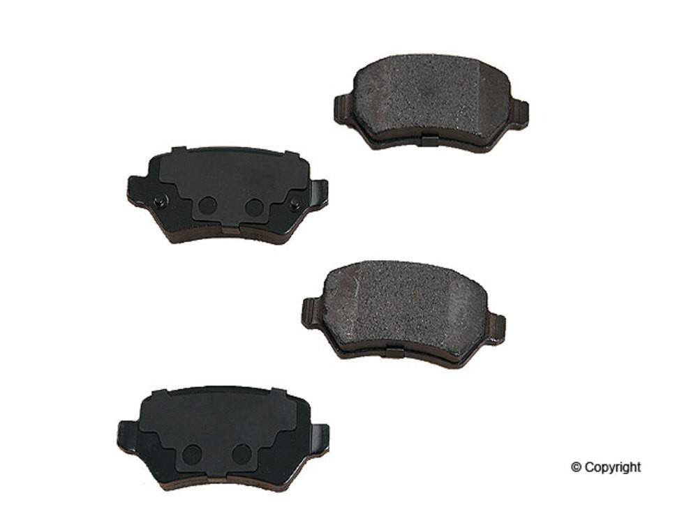 WD EXPRESS - Original Performance Semi-Met Disc Brake Pad Set (Rear) - WDX 520 13620 507