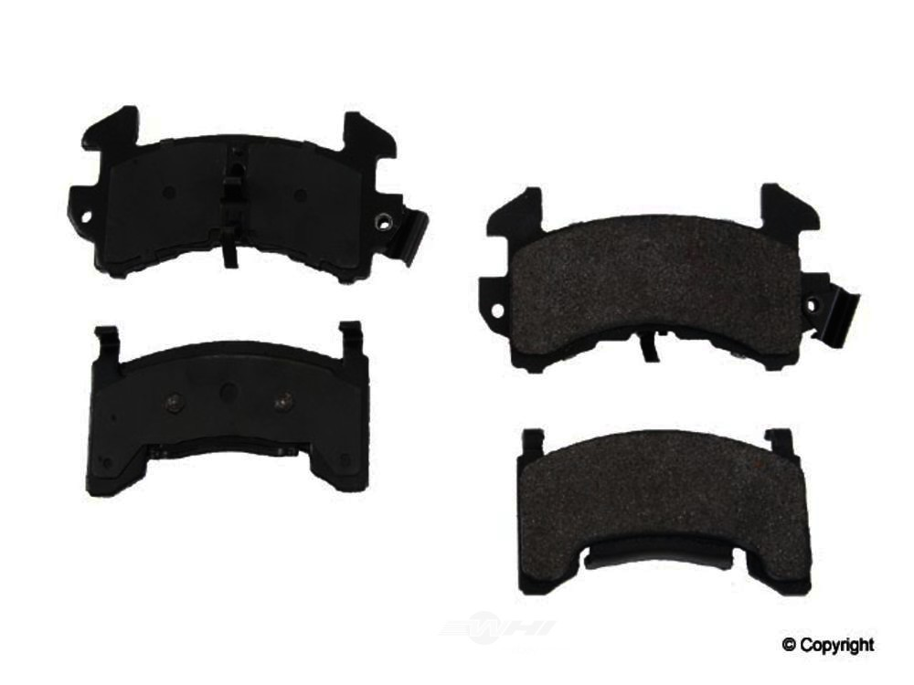 Original -  Performance Semi-Met Disc Brake Pad Set - WDX 520 01540 507