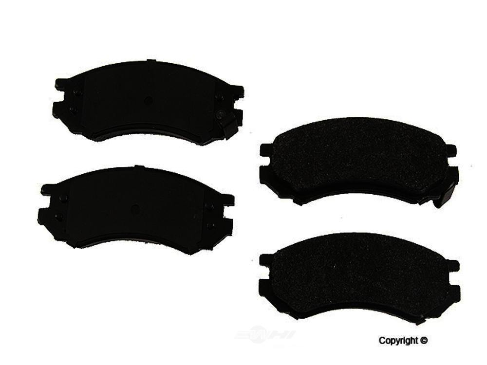 Original -  Performance Semi-Met Disc Brake Pad Set - WDX 520 05070 507