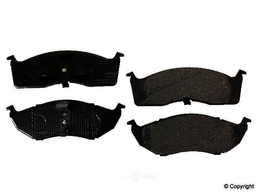Mintex -  Disc Brake Pad Set - WDX 520 05910 325