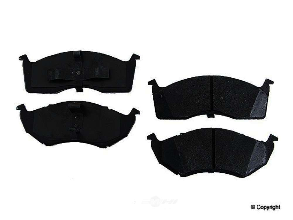 Original -  Performance Semi-Met Disc Brake Pad Set - WDX 520 05910 507