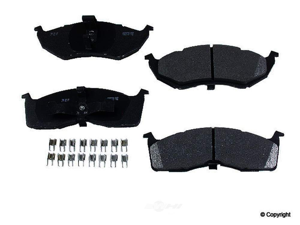 Meyle -  Heavy Duty Disc Brake Pad Set - WDX 520 05910 505