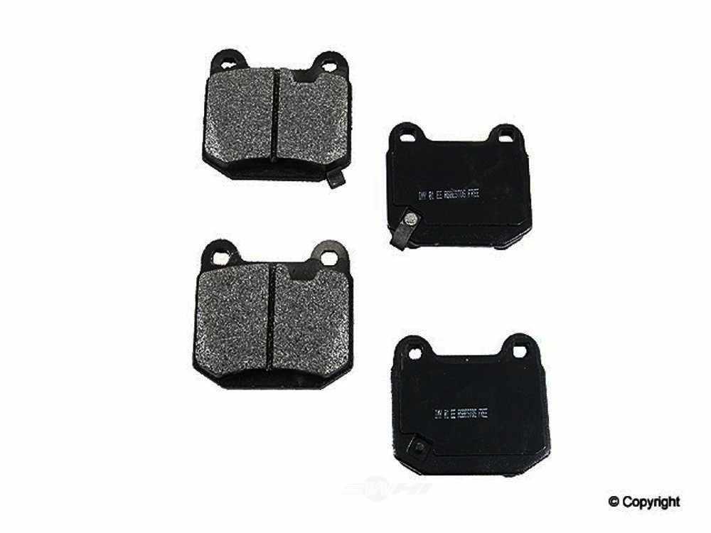 Meyle -  Semi Metallic Disc Brake Pad Set - WDX 520 09610 503