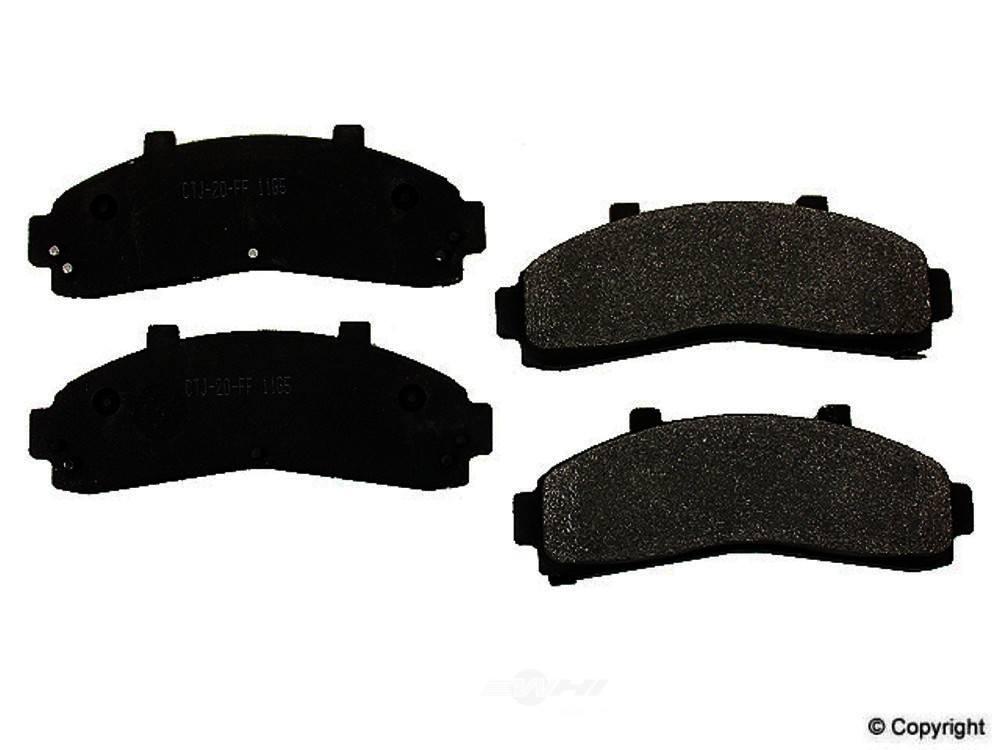 Meyle -  Semi Metallic Disc Brake Pad Set - WDX 520 06520 503