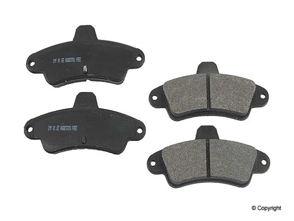 IMC MFG NUMBER CATALOG - Meyle Semi Metallic Disc Brake Pad Set (Rear) - IMM 7541 D661 PMQ