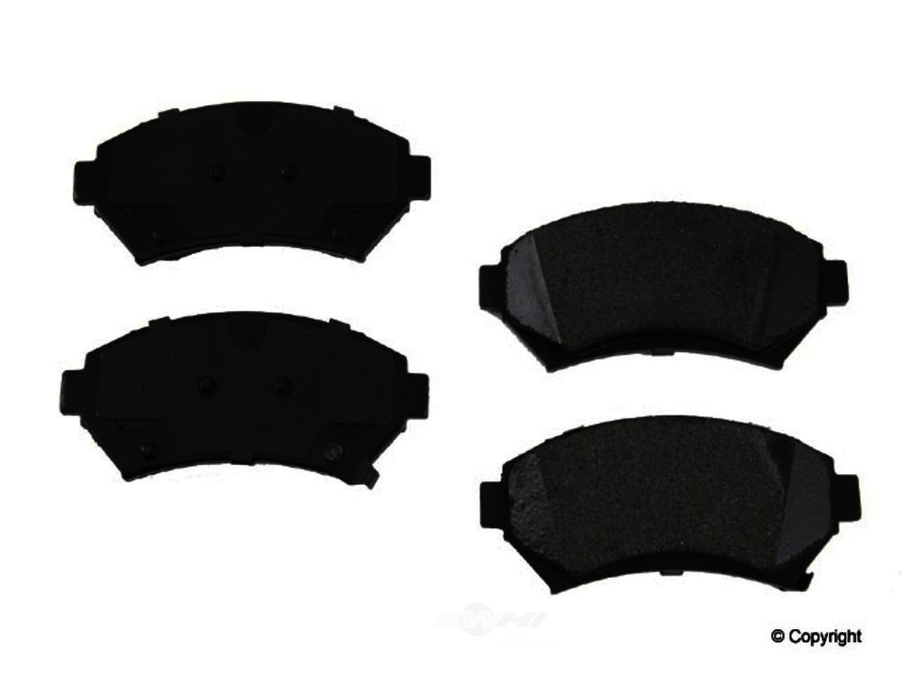 Original -  Performance Semi-Met Disc Brake Pad Set - WDX 520 06990 507