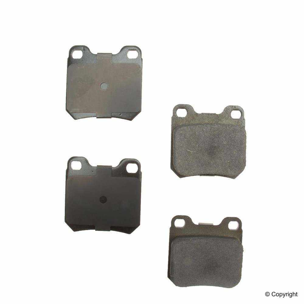WD EXPRESS - Original Performance Ceramic Disc Brake Pad Set (Rear) - WDX 520 07090 508