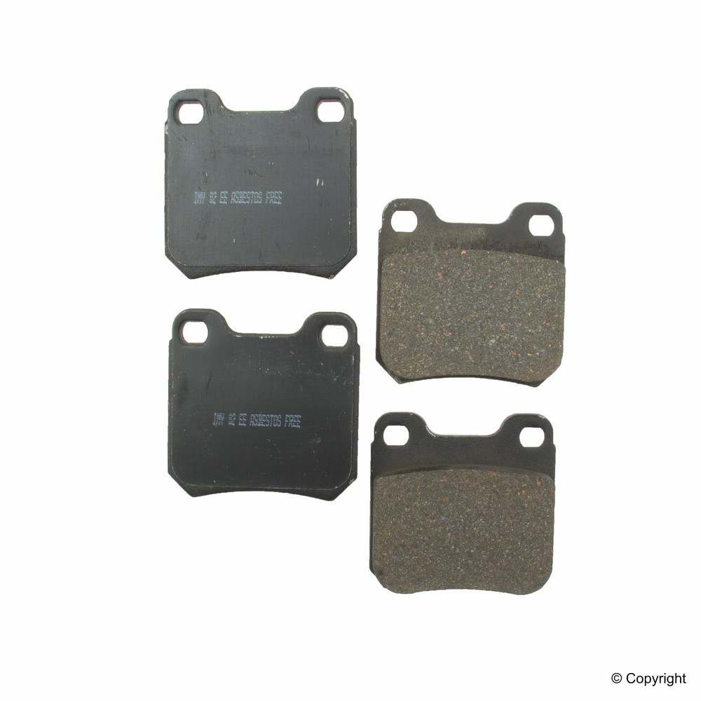 IMC MFG NUMBER CATALOG - Meyle Ceramic Disc Brake Pad Set (Rear) - IMM 7614 D709 CRM
