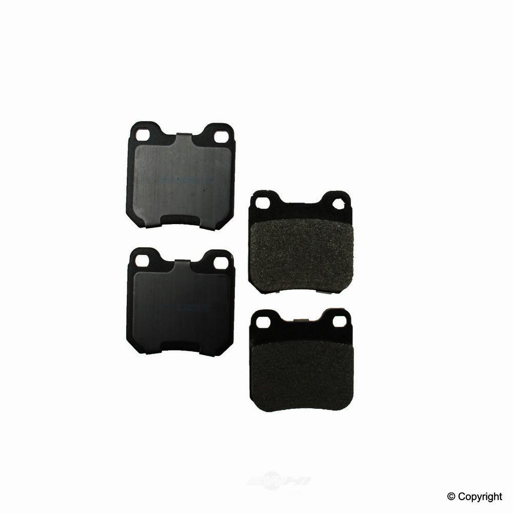 Meyle -  Semi Metallic Disc Brake Pad Set - WDX 520 07090 503