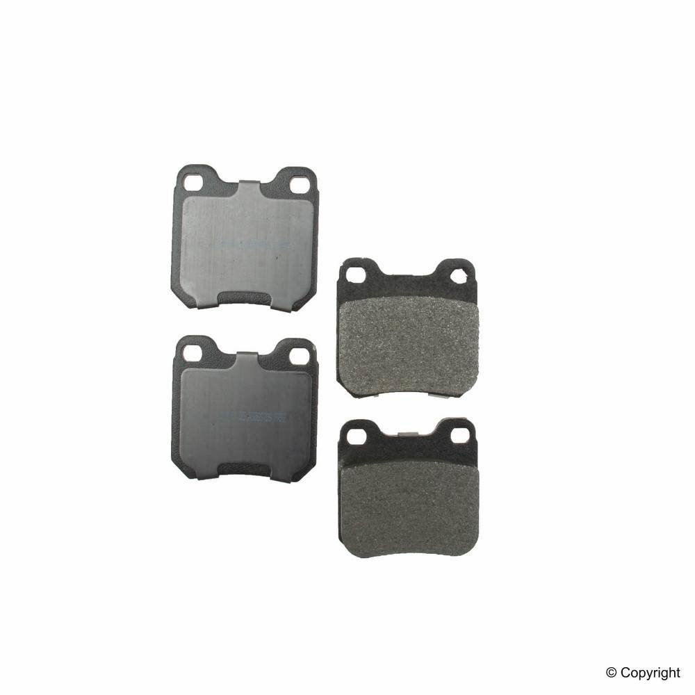 IMC MFG NUMBER CATALOG - Meyle Semi Metallic Disc Brake Pad Set (Rear) - IMM 7614 D709 PMQ