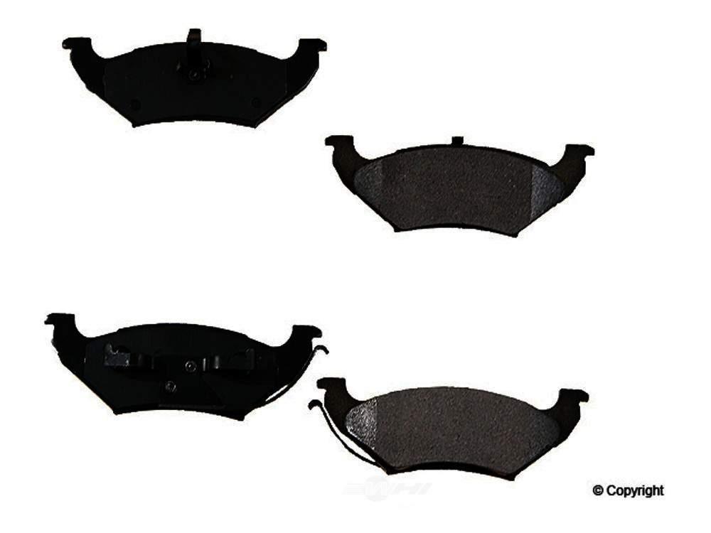 Original -  Performance Ceramic Disc Brake Pad Set - WDX 520 07150 508