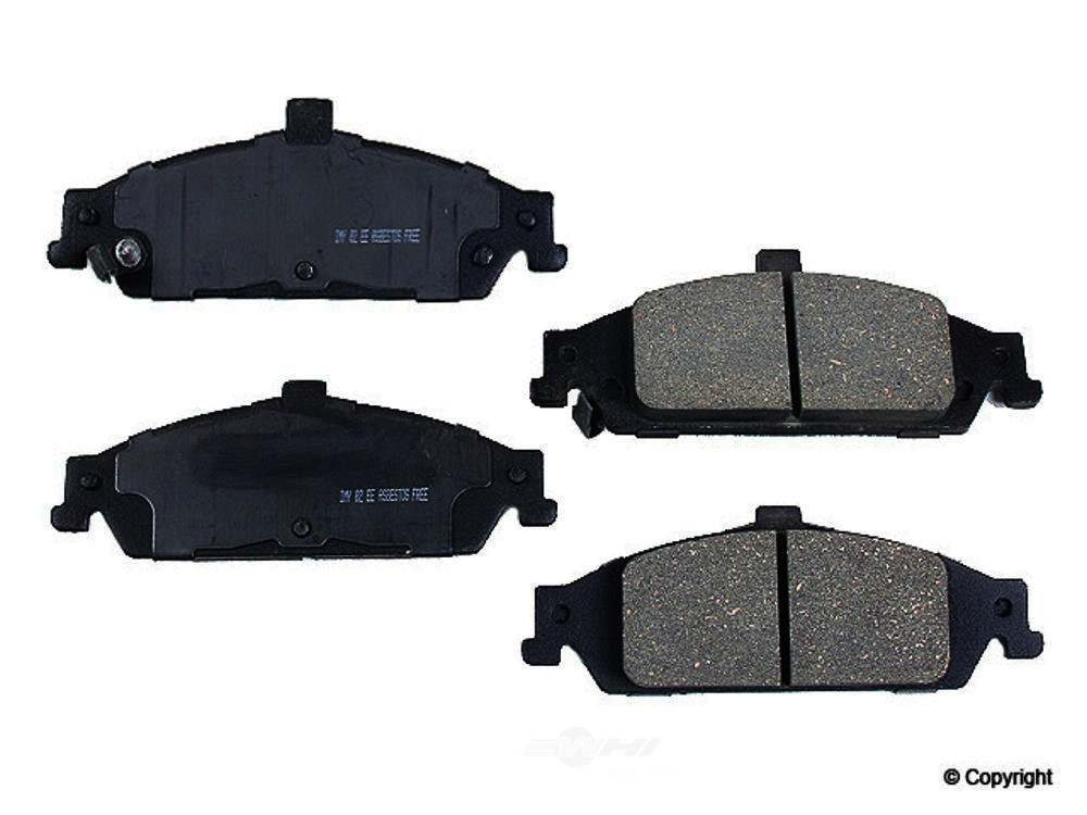Meyle -  Ceramic Disc Brake Pad Set - WDX 520 07270 504