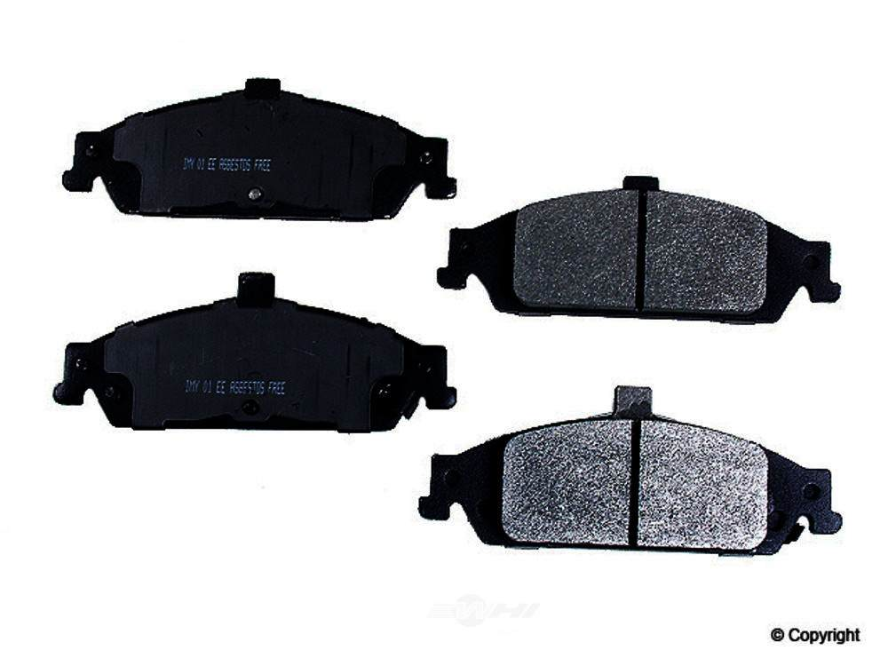 Meyle -  Semi Metallic Disc Brake Pad Set - WDX 520 07270 503