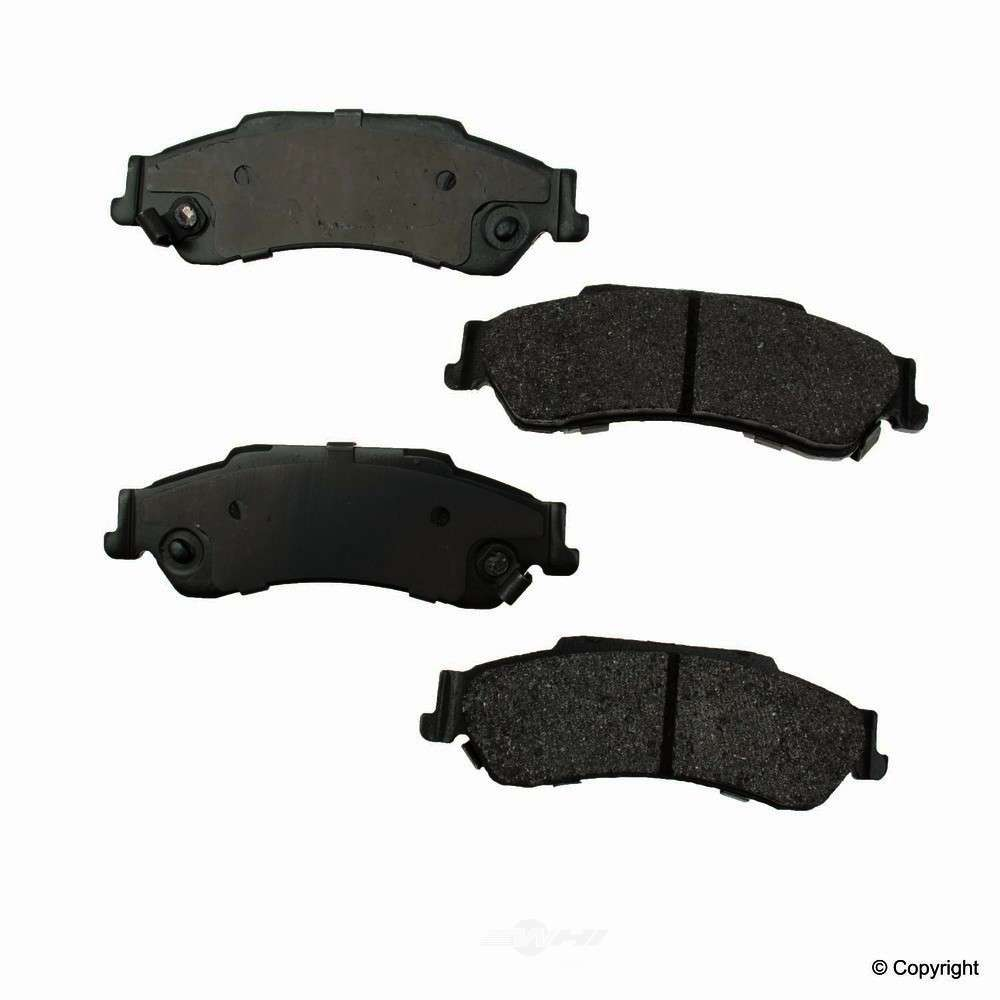 Original -  Performance Semi-Met Disc Brake Pad Set - WDX 520 07290 507