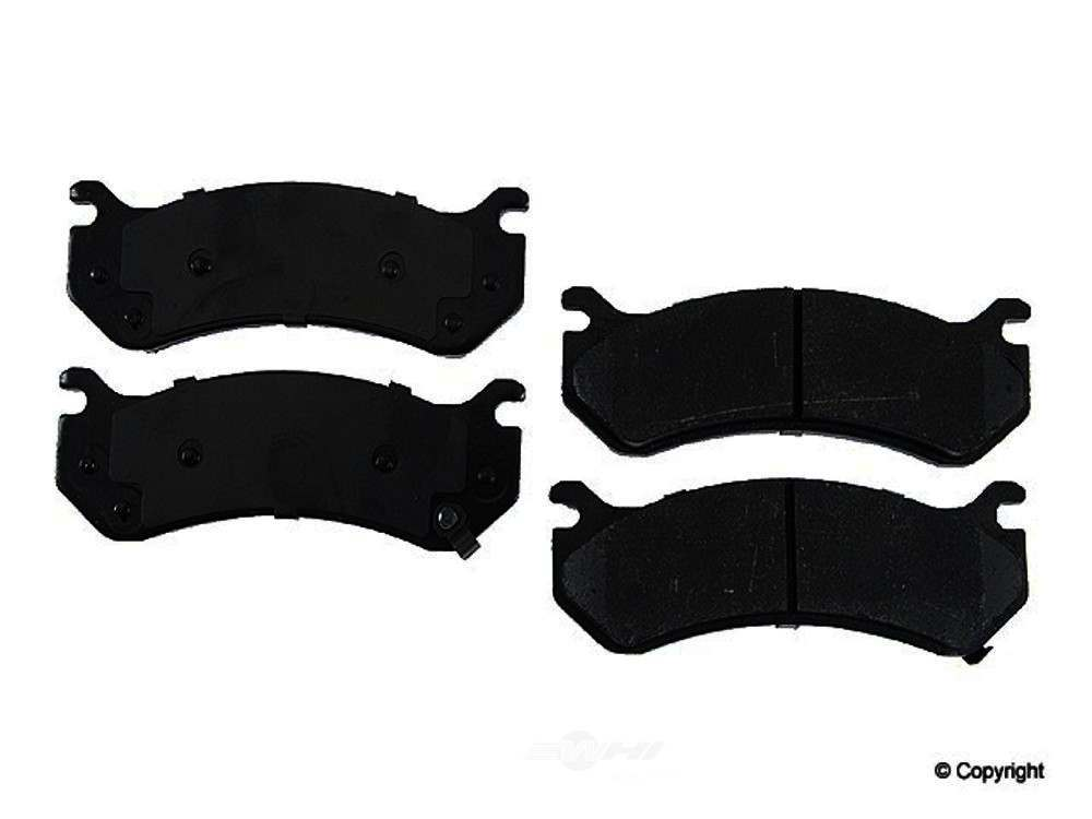 Original -  Performance Semi-Met Disc Brake Pad Set - WDX 520 07850 507