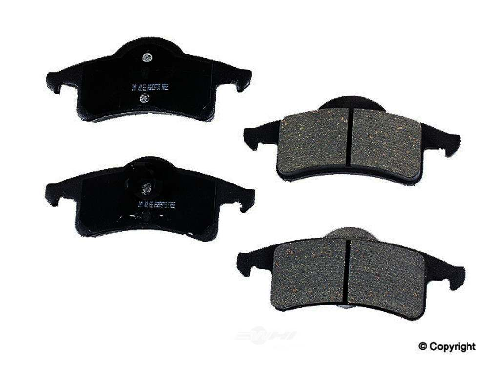 Meyle -  Ceramic Disc Brake Pad Set - WDX 520 07910 504