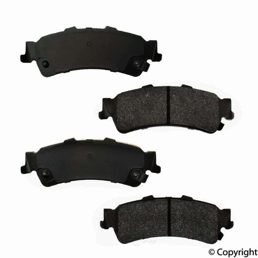 Original -  Performance Semi-Met Disc Brake Pad Set - WDX 520 07920 507