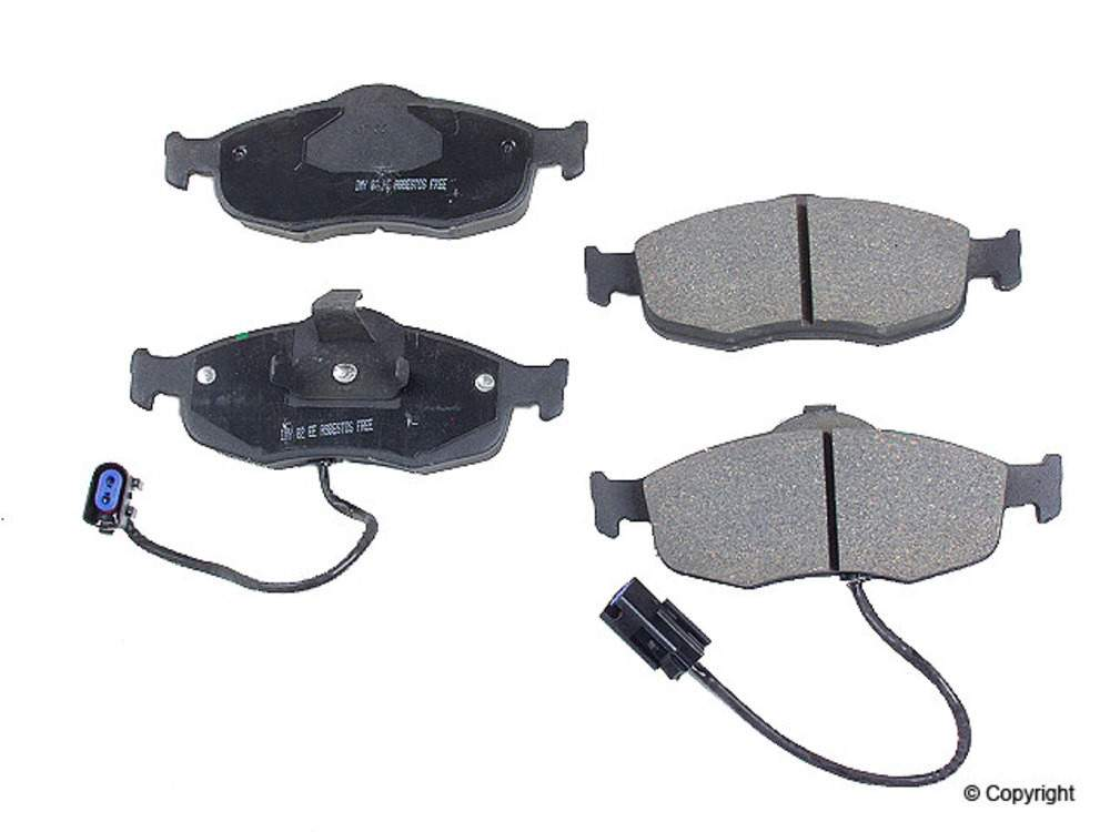 Meyle - Meyle Ceramic Disc Brake Pad Set (Front) - WDX 520 08010 504